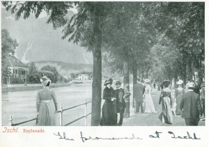 Marjorie's postcard from Ischl, 1903