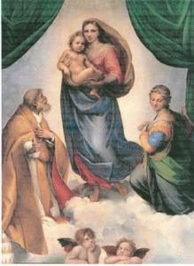 The Sistine Madonna, Dresden